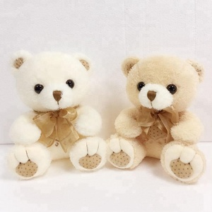 Sweet cute Plush stuffed toys animals teddy bear with bowknot