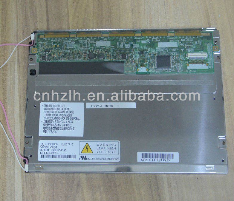 AA084VF01 Backlight replaceable wide view angle mitsubishi industrial 8.4 lcd panel for boe
