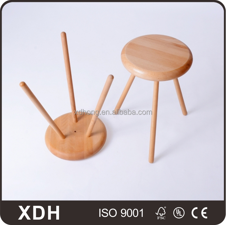 Simple Design Small Wooden Easy Chair Kids Baby Chair