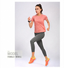 youth dri fit t-shirts wholesale the sports apparel dry fit sports wear female running 95%polyester 5%spandex pink t shirt