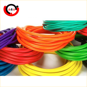Colored High Elasticity Dipped Latex Rubber Tube, Slingshot Rubber, latex tubing