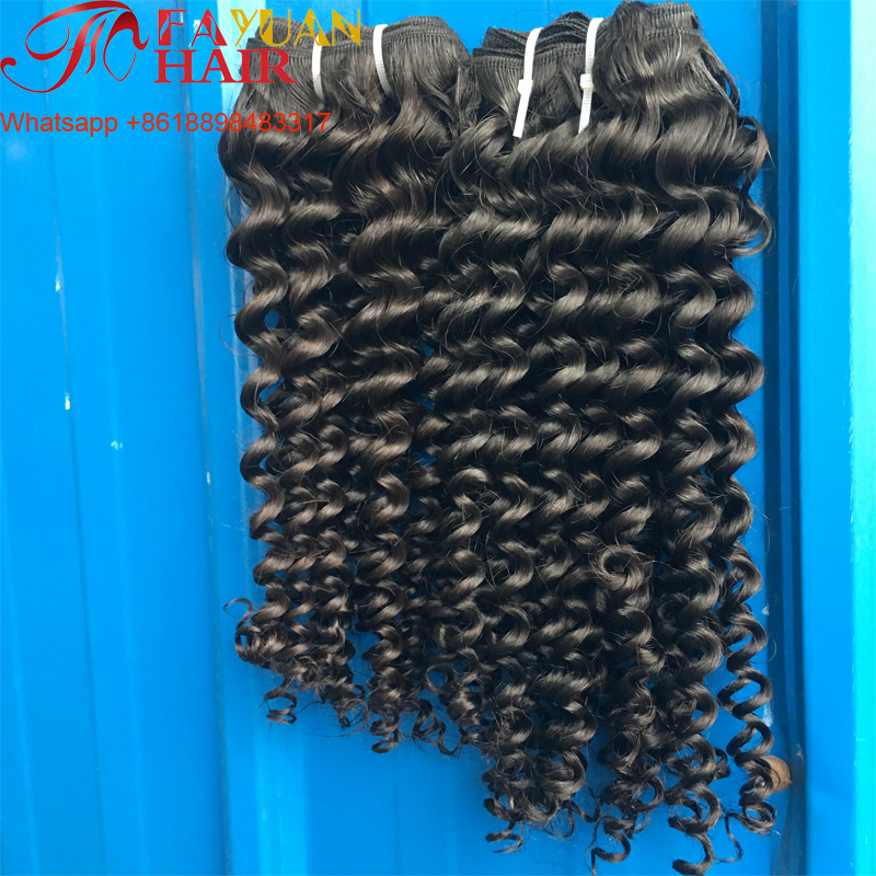 5 stars good feeback top quality wholesale malaysian hair unprocessed kinky curly virgin hair weave