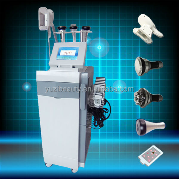 Best slimming! cryo+cavi+RF+ laser+vaccum slimming machine for reducing weight