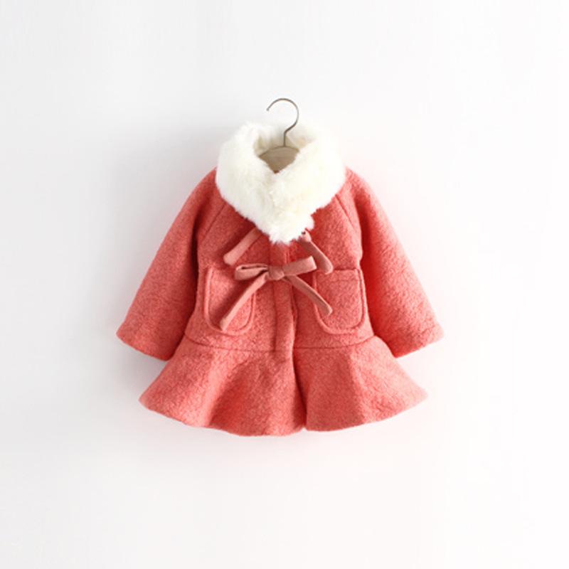 03db4a452 Cheap Baby Girl Cream Fur Coat