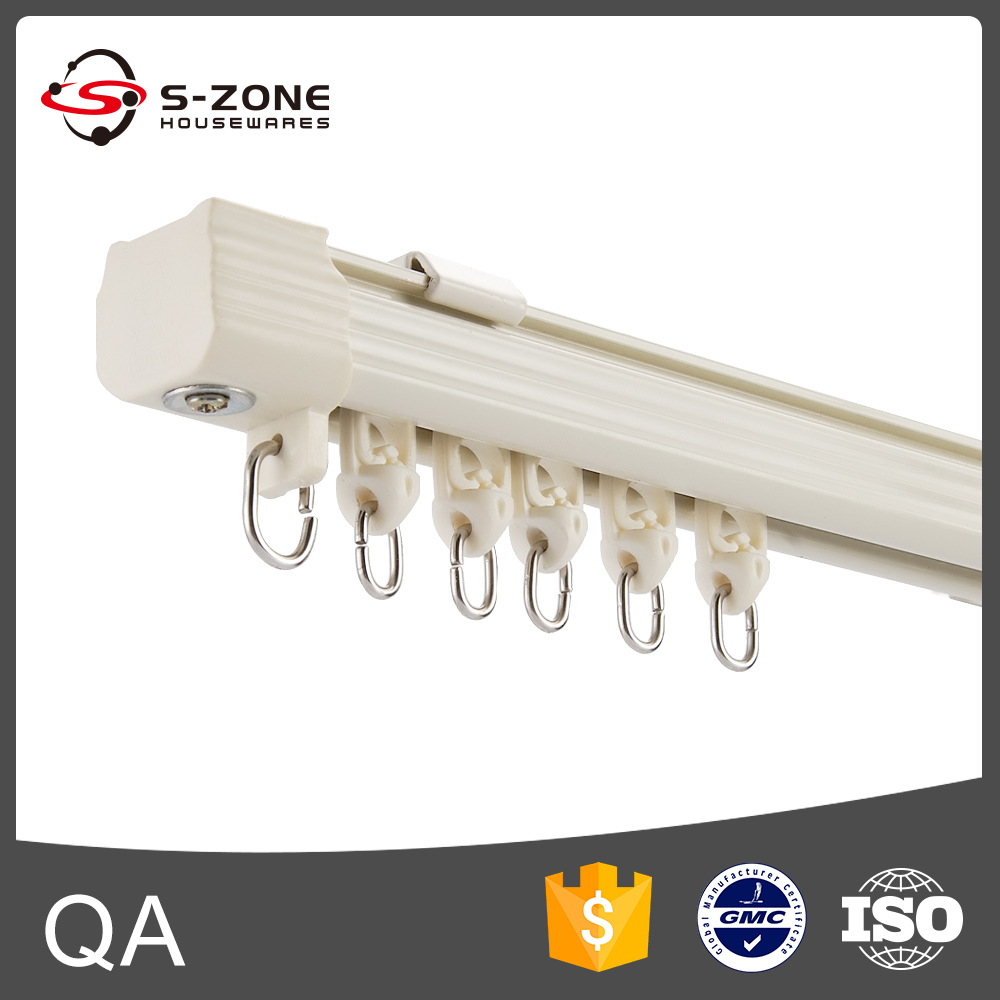 Ceiling mounted curtain track system - Ceiling Mount Shower Curtain Track Ceiling Mount Shower Curtain Track Suppliers And Manufacturers At Alibaba Com