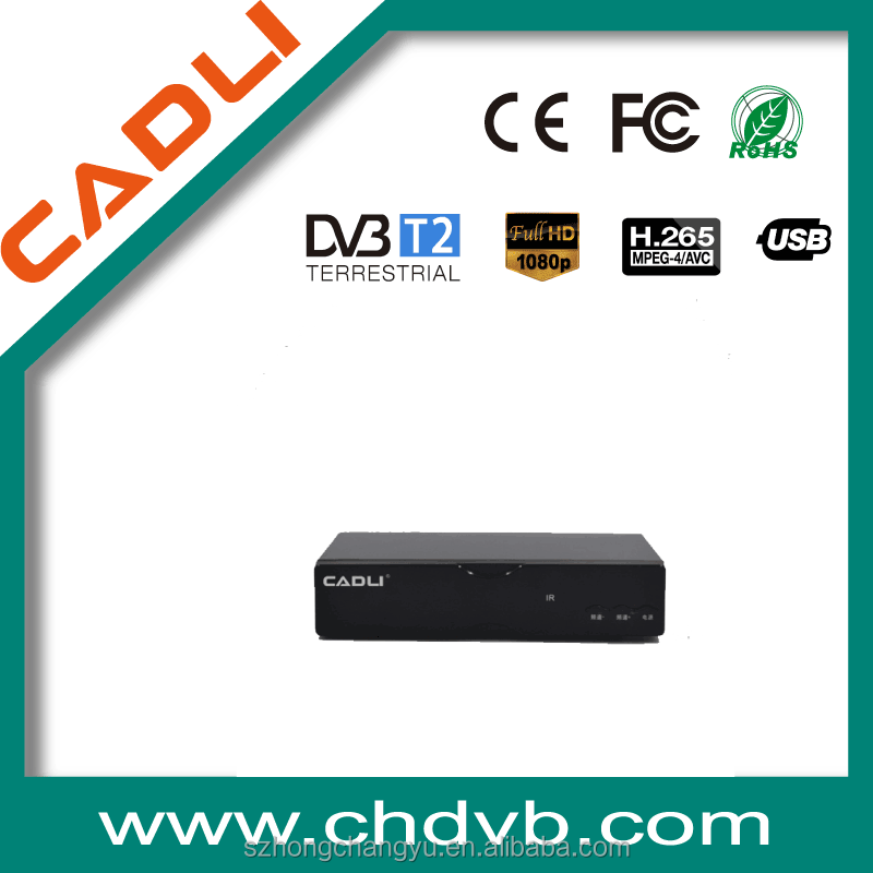 HD1080P With MPEG 4 Mini GX6605 dvb t2 receiver with IF for sales