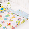 Infant kids anti kicking sleeping bag quilt for four seasons 100% cotton fabric and quilt sheep style