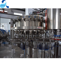 Soda Drink Filling Machinery,Carbonated Water Production Machine