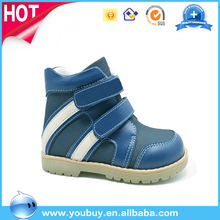 Boys Comfort Hand Made Leather Boots Shoes,Child Flat Shoes Manufacturer