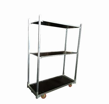 Foldable Metal Nursery Plant Carts