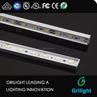 alibaba china Linkable Profile Aluminum LED Rigid Strip for Display Case and Under Cabinet Light