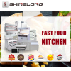 Hot Sale Fried Chicken Burger Restaurant Fast Food Equipment(One-stop Solution)