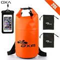 OXA 20L Outdoor PVC Waterproof Dry Bag with two Phone Case Durable Lightweight Diving Rafting Swimming