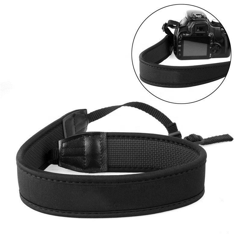 1pc  Adjustable Elastic Neoprene Neck Strap High Quality DSLR Camera Strap Belt