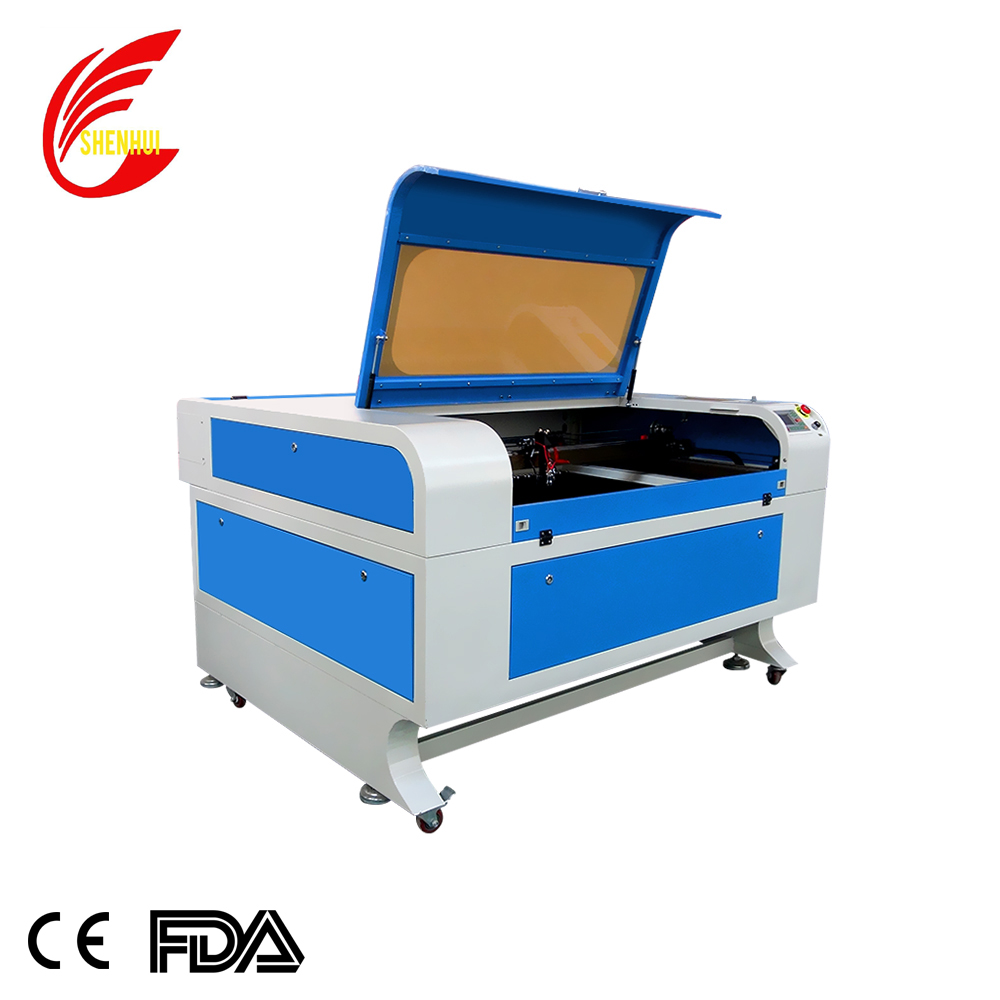 SH -1290   CO2 Laser Engraving Cutting Machine for Plastic/Leather/Wood