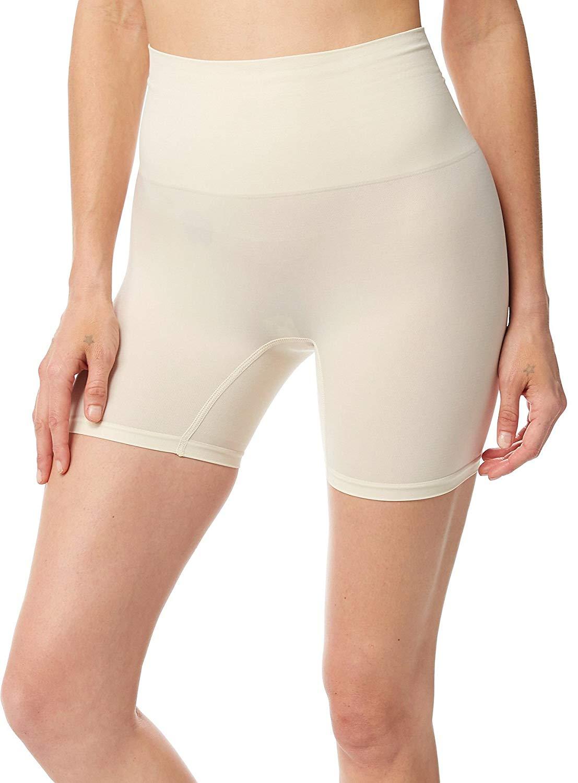 4ed3660719f Get Quotations · Jockey Women s Shapewear Slimmers Seamfree Short