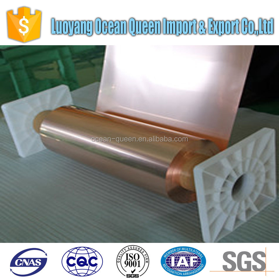 Third party inspected copper tape in copper strips made in China with good price