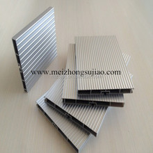 Dongguan good quality rigid plastic skirting for kitchen cabinet