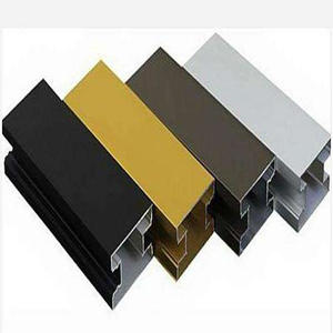 6063 t5 aluminum extruded anodizing plant profiles furniture