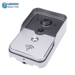 2016 smart home Wireless WiFi DoorBell Video 720P Camera Door Phone Visual Intercom Monitor