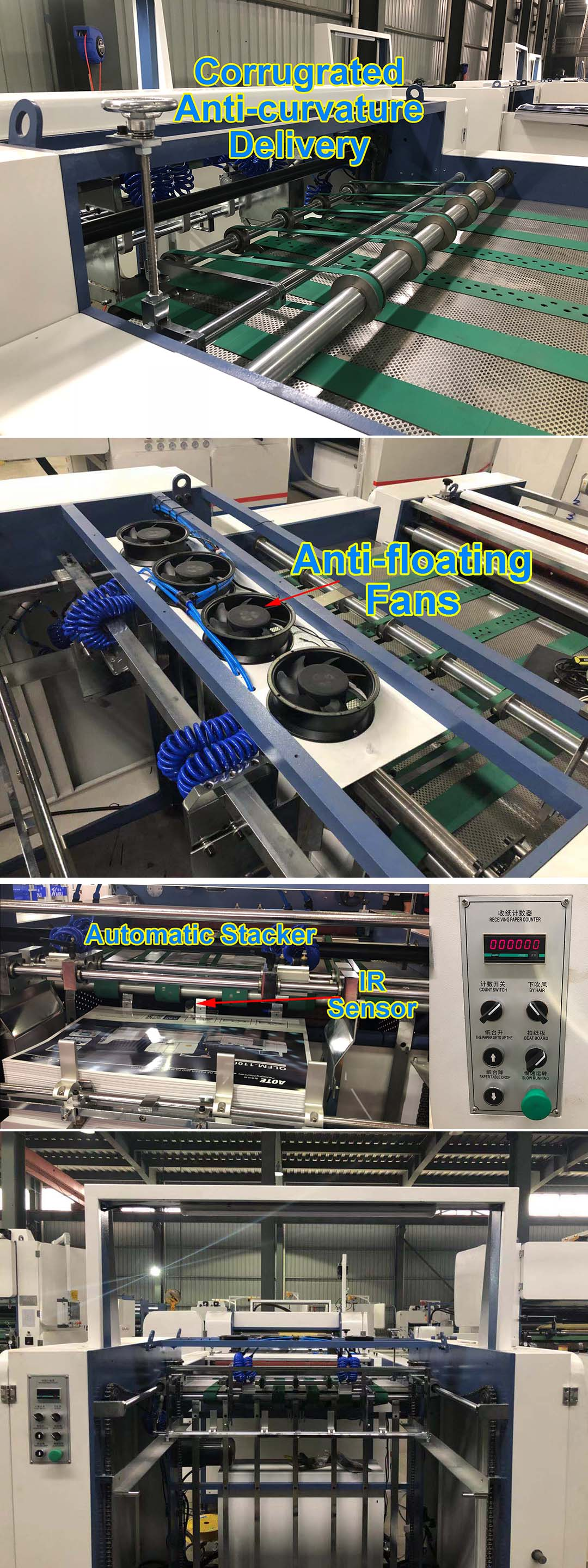 Factory direct deal sheet to sheet automatic thermal film plate type laminating machine