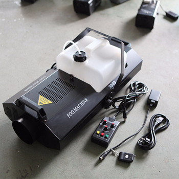 3000W Fog Machine DMX512 / regularly time /regularly quantitative Wireless Remote Control Disco/Club 3000W Fog Smoke Machine