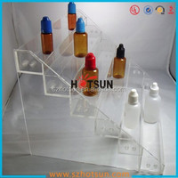 DIY assembled 6 tiers clear acrylic eliquid display stand