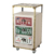Professional Lockable Salons Station Beauty Salon Trolley Cart Case