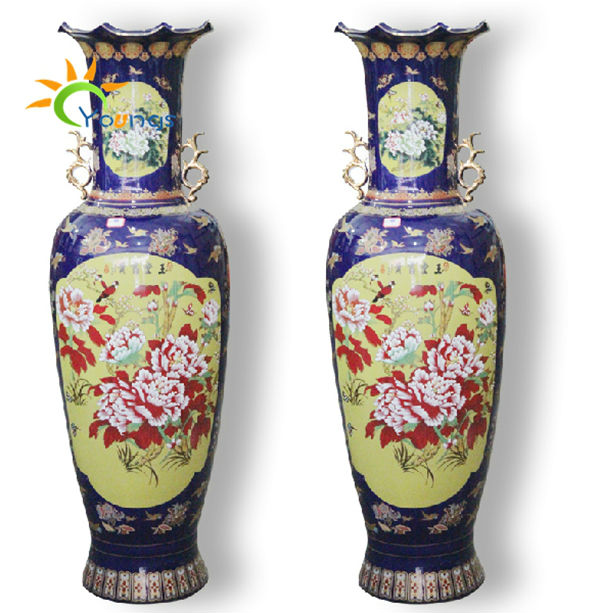 Special Chinese Ceramic Large Floor Standing Vases For