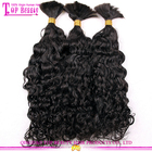 100% human hair bulk for wig making unprocessed virgin brazilian bulk hair extensions without weft