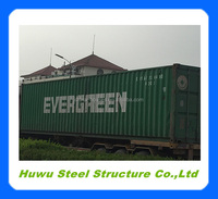 ISO 40 foot shipping container price 40GP steel container