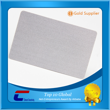 Competitive price credit card size recycled plastic pvc business competitive price credit card size recycled plastic pvc business card silver blank printable plastic pvc cards colourmoves