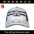 High quality 3D embroidery Biochemical mask 6 panel mesh trucker cap