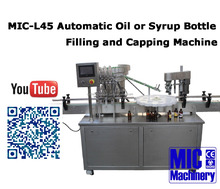 MIC Machinery MIC-XP40 Automatic Alibaba Hot Sales Morocco Hair care oil Filling and Capping Machine