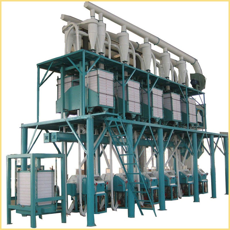 best quality and price corn flour milling machine / flour mill for sale in kenya