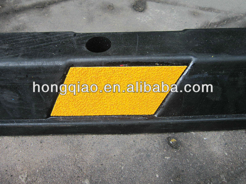 1830mm USA Standard Rubber Parking Bumper Rubber Parking Curb Rubber Parking Block