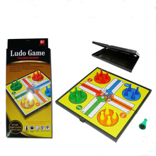 Wholesale Outdoor and Indoor magnetic board game ludo game for Christmas gifts