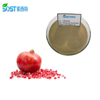SOST Chinese Supplier Organic Pomegranate Bark Extract Powder