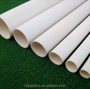 "Grey and white 1/2"" Conduit Schedule 40 PVC Water Pipe"
