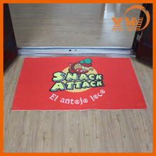 Newest fashion entrance doormat non-slip printed floor mat