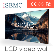 New launch 47inch lcd video wall 4.7mm ultra narrow bezel meeting mall dis display wall system 2 x 2