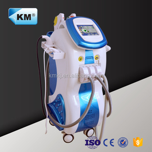 Amazing result!! 5 in 1 multifunction facial aesthetic machine with elight/ipl/cavitation/rf/nd yag laser