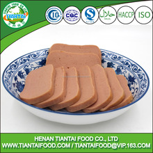 canned meat manufacturer canned food Luncheon meat chicken