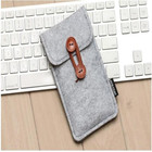 alibaba china high quality felt cell phone pocket bag for iphone 6/7
