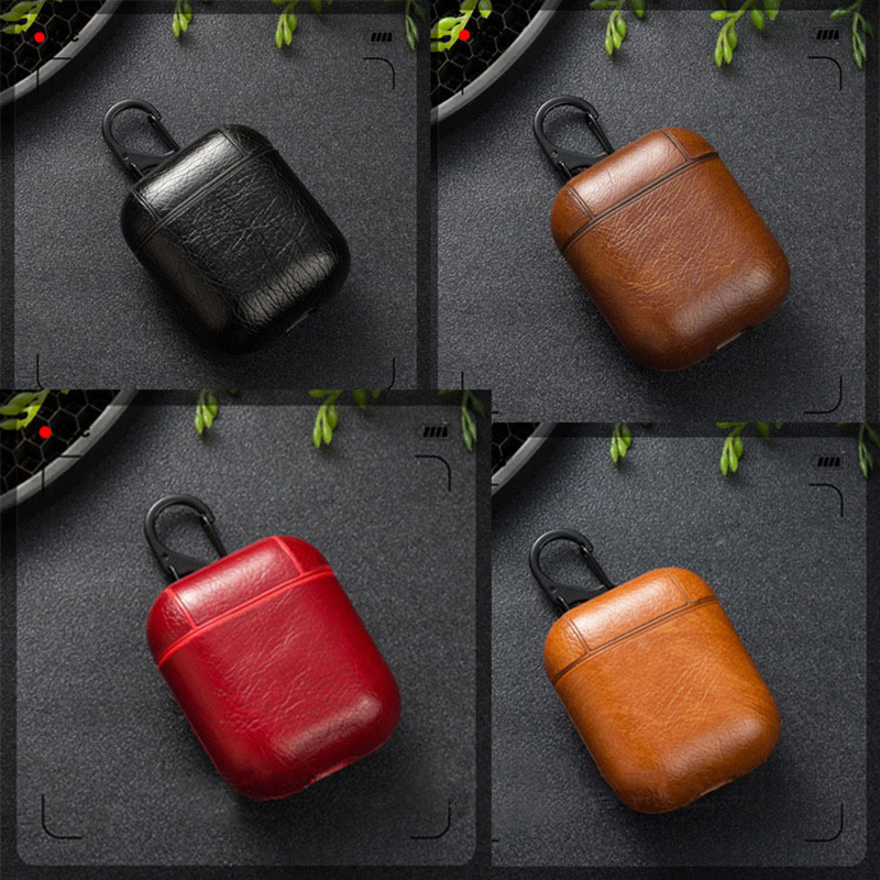 Protective  for Airpods Case Leather Supplier for Airpods Charging Case