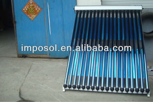 Imposol sun power collectos and solar panel heater water