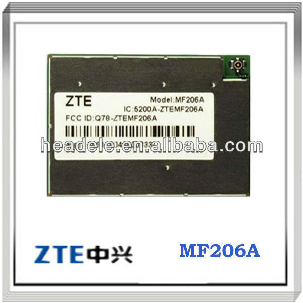 ZTE WCDMA Module ZTE MF206A ZTE small size Support the GPS function