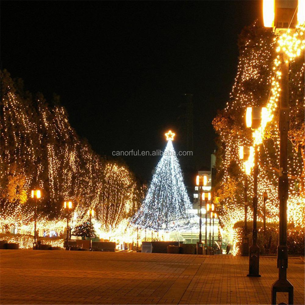 Luces del rbol de navidad luces led festival decoraci n suministros de decoraci n de navidad - Luces led arbol navidad ...