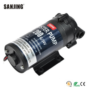 Factory Price 200G 24V Water High Pressure Booster Diaphragm Pump for Drinking Water
