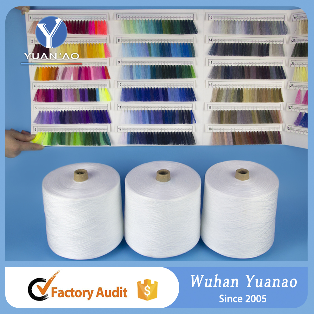 Polyester thread 6000 yards 100% spun polyester sewing Ne 40/2